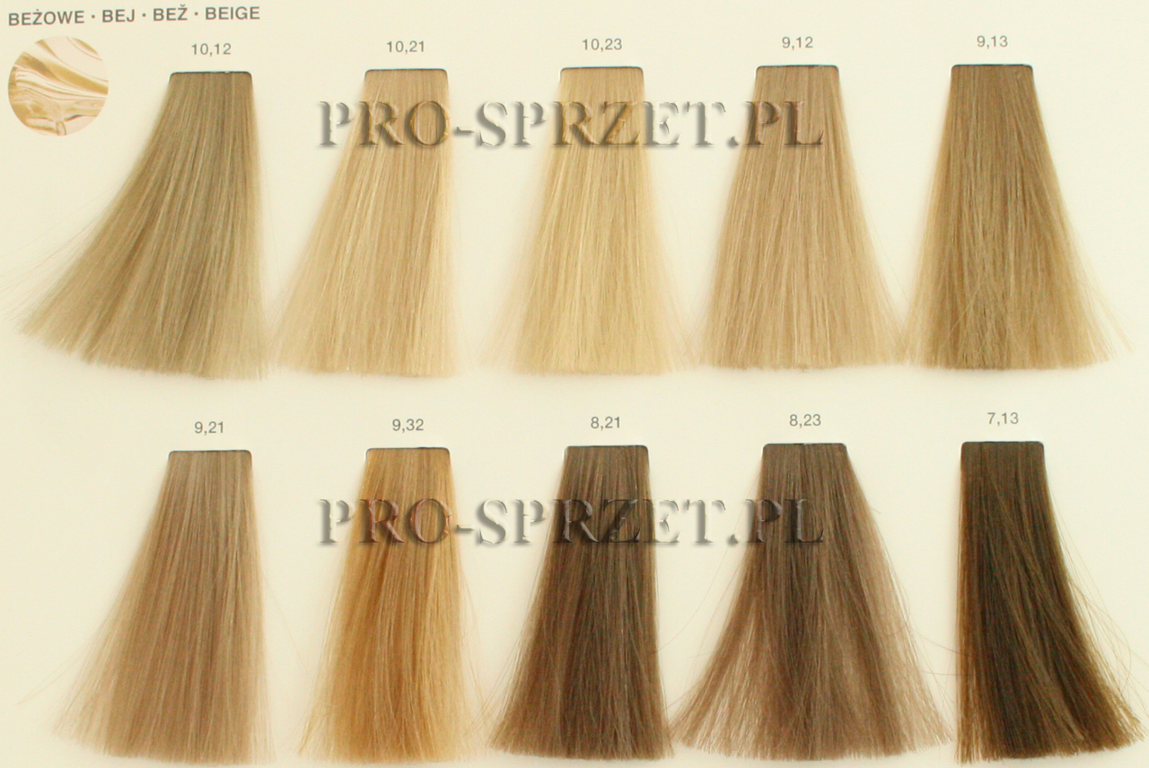 Inoa Hair Color Chart Shades Of Red Hair Color 6 66