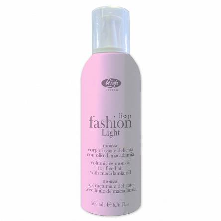 Pianka Lisap Fashion Light Volumizing Mousse do włosów 200ml Pianki do włosów Lisap 1709580000019