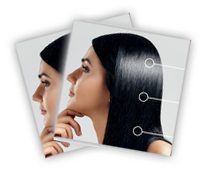 pełne dopasowanie do struktury włosów