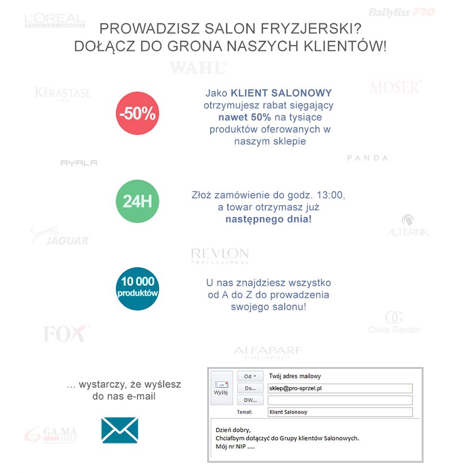 oferta dla salonów fryzjerskich
