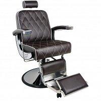 4076e791370925 Fotel Gabbiano IMPERIAL barberski, brązowy dostępny w 48H Fotele  fryzjerskie Gabbiano 9888