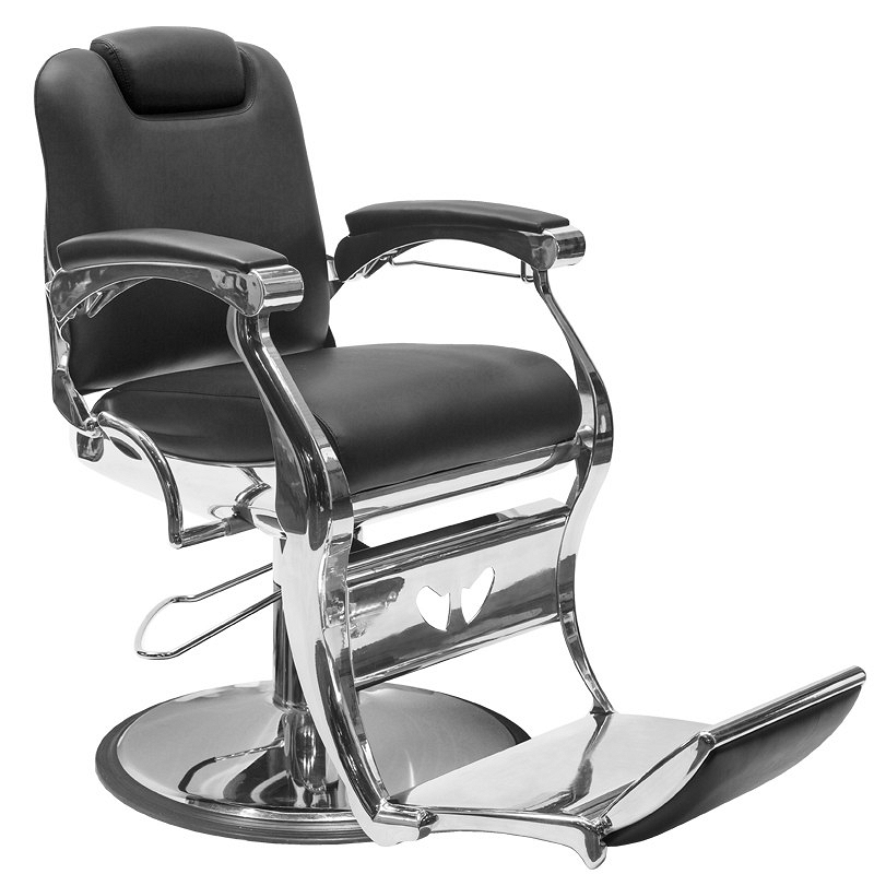 c0dc46d9387df0 Fotel barberski Gabbiano ANGELO fryzjerski czarny dostępny w 48h Fotele  barberskie Gabbiano 5906717415197