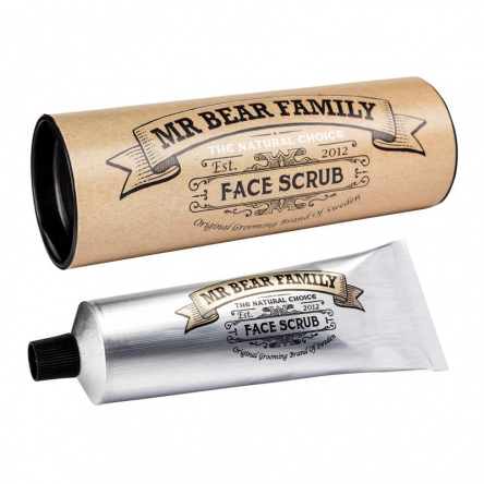Peeling Mr Bear Face Scrub do twarzy 75ml Peelingi do twarzy Mr Bear Family 7350084610088