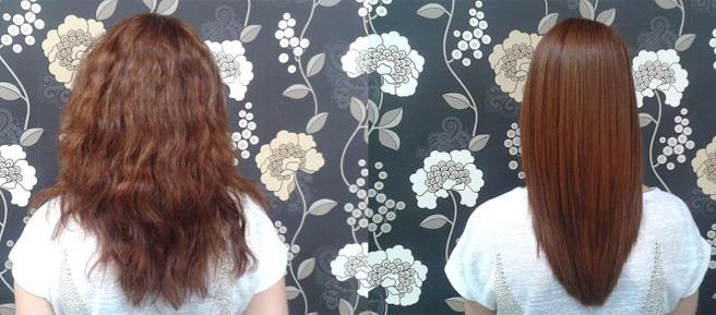 keratynowe brazylijskie prostowanie włosów