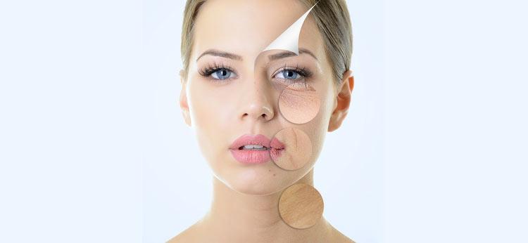 przedwczesne starzenie się skóry